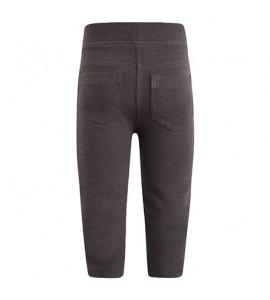 Legging felpa gris oscuro