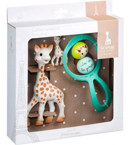 Set regalo Sophie la girafe con llavero