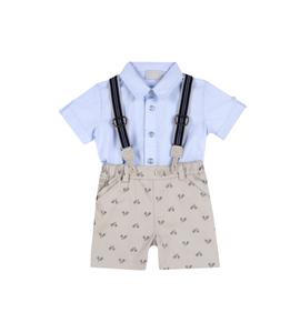 Conjunto elegante camisa y pantalon