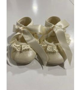 Zapato bautizo niña